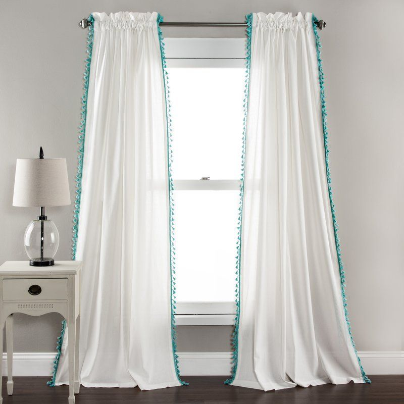 Hubbs Curtain Panels Avas Room Pinterest - cortinas azules