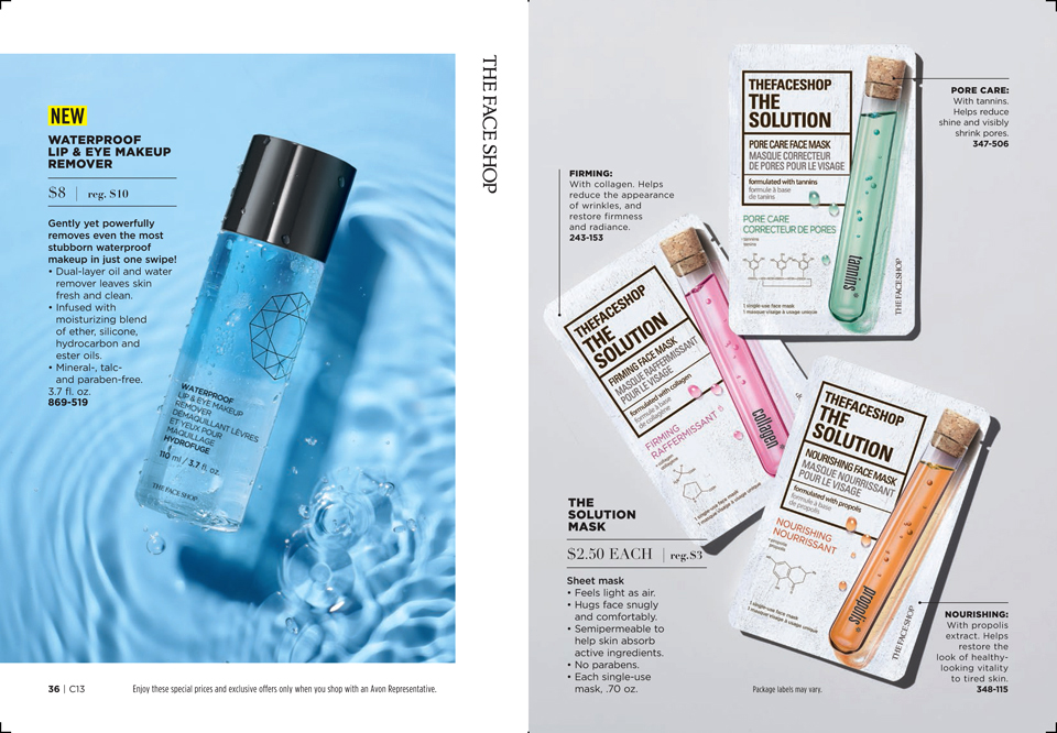 Online Brochure by Avon in 2020 Eye makeup remover, The