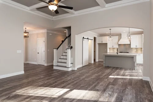Best Wall Color Sw Agreeable Gray Sw7029 Flat Coffered 640 x 480