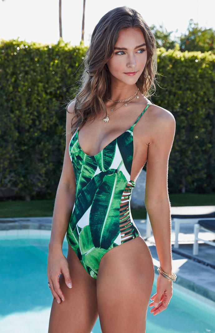 Stone Fox Hermosa Strappy One Piece Swimsuit at PacSun.com from PacSun.  Saved to… 21754bf2d