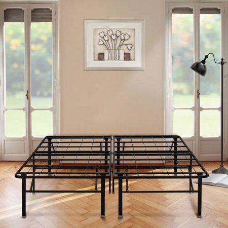 Home Under Bed Storage Metal Platform Bed Bed Frame