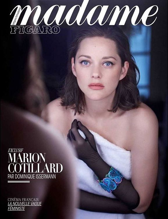Marion Cotillard by Dominique Issermann for Madame Figaro France 19 May 2017 Cover