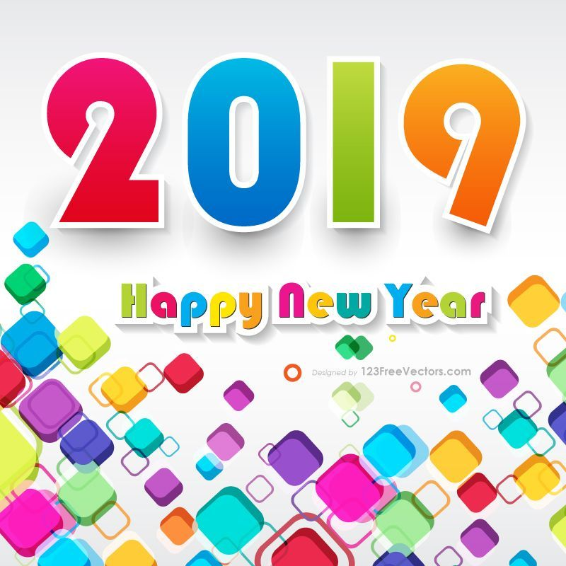 happy new year background colorful new year background 2019 happynew yearbackground