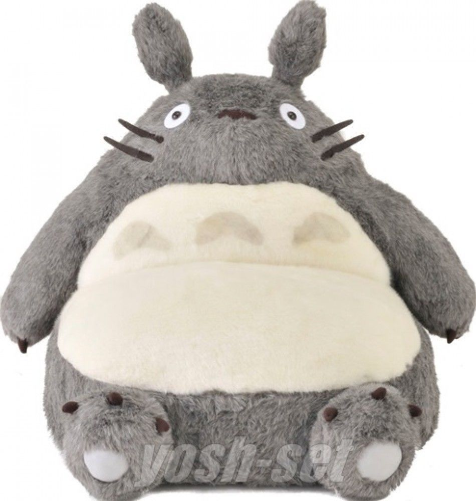 Studio Ghibli My Neighbor Totoro Single Sofa Chair Seat Plush Doll From Japan