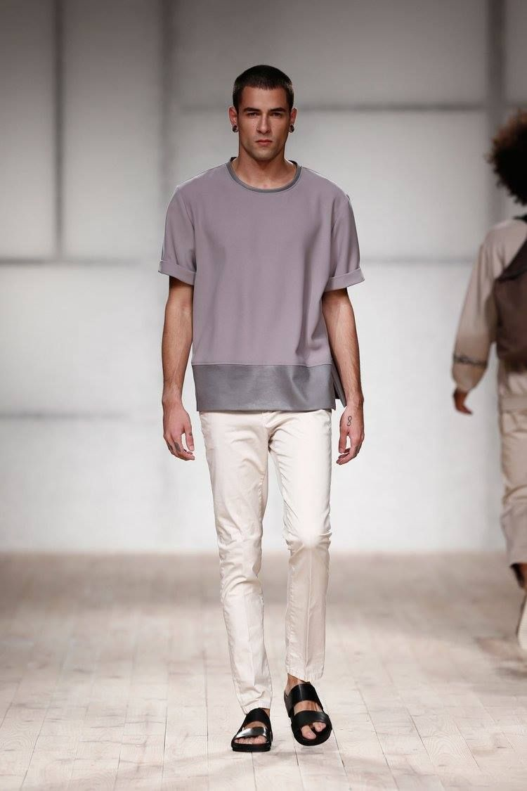 Male Fashion Trends: Ricardo Preto Spring-Summer 2017 - Moda Lisboa