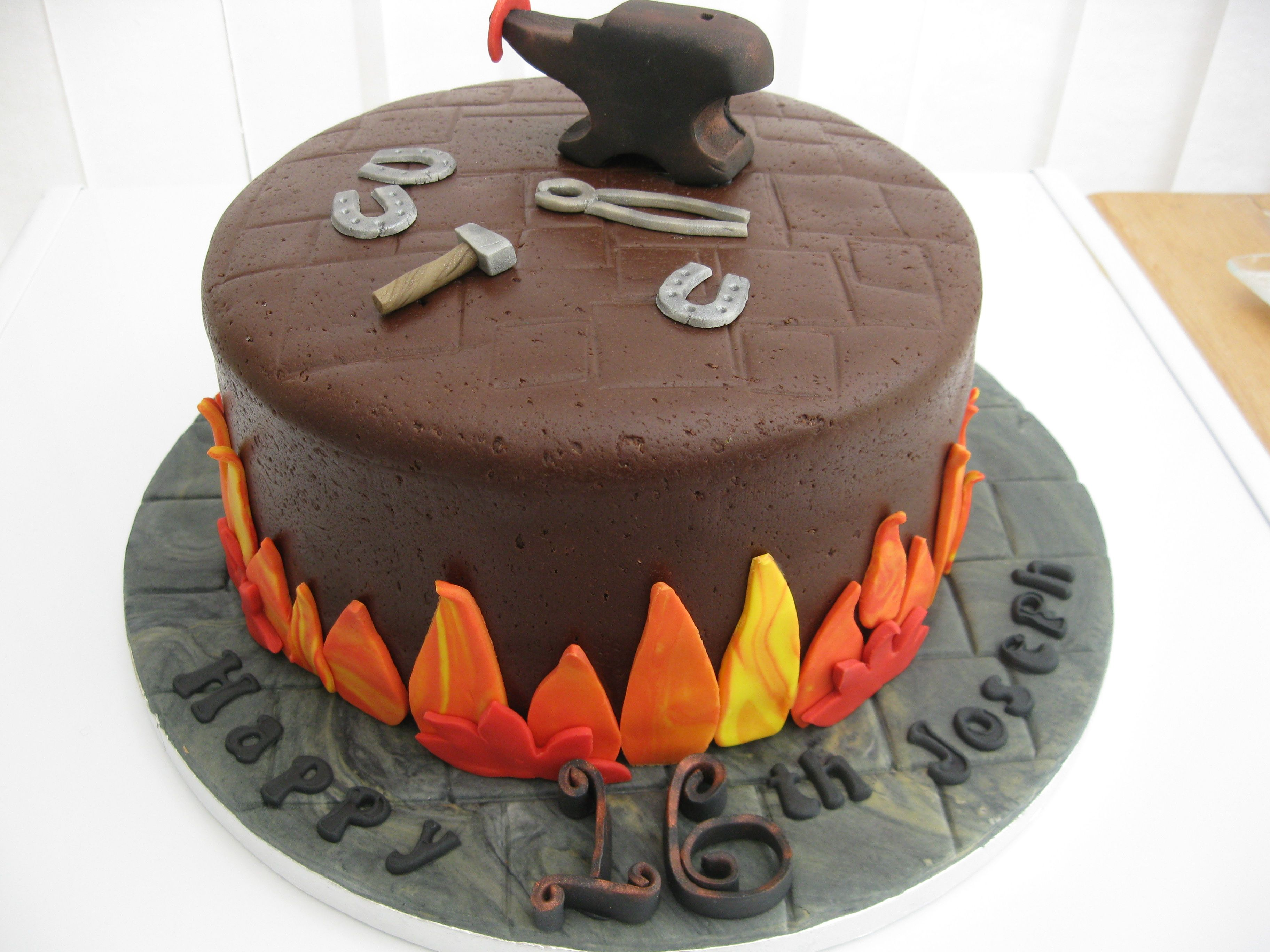Blacksmith cake ideas