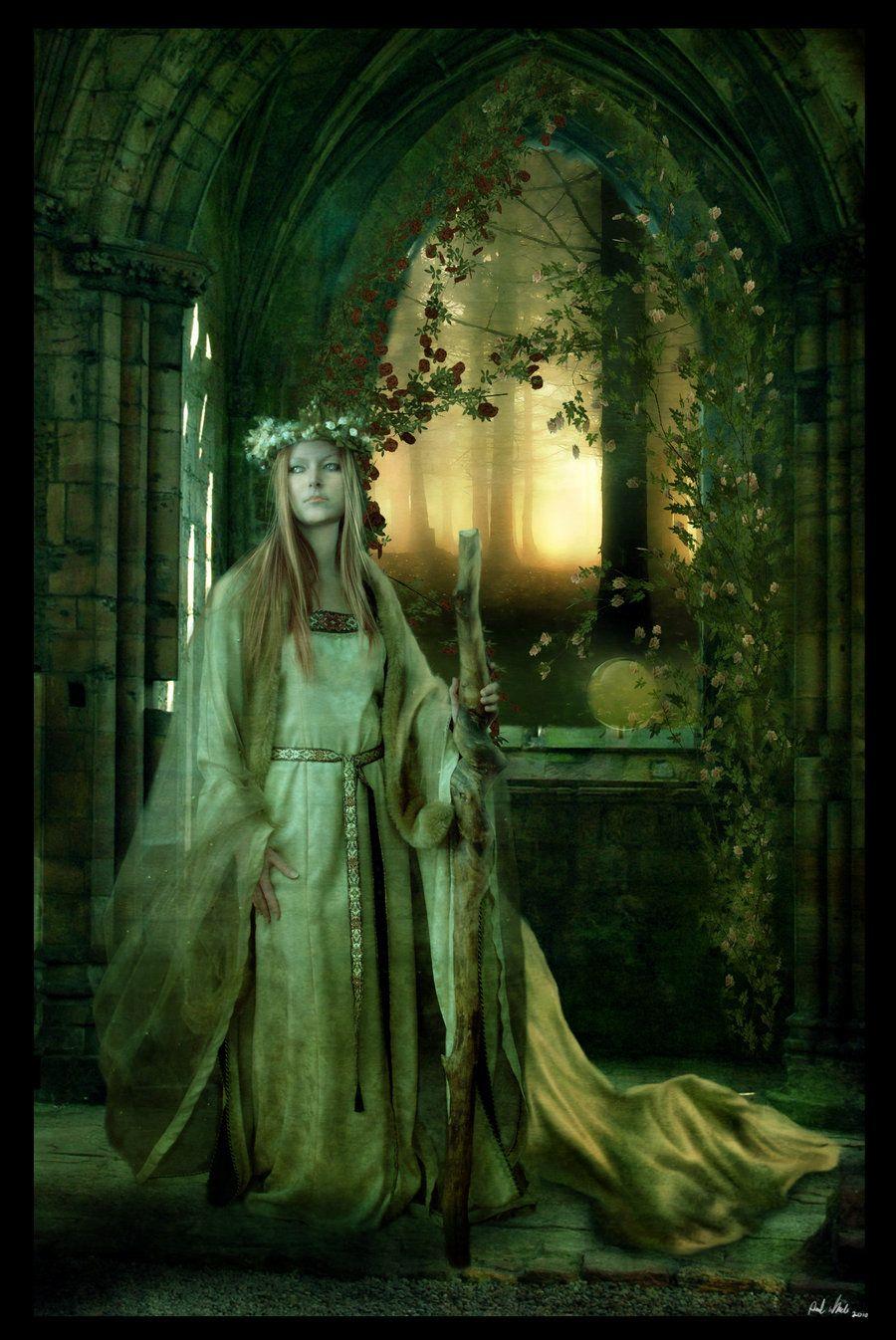 Druids Trees:  Spirit of the grove.