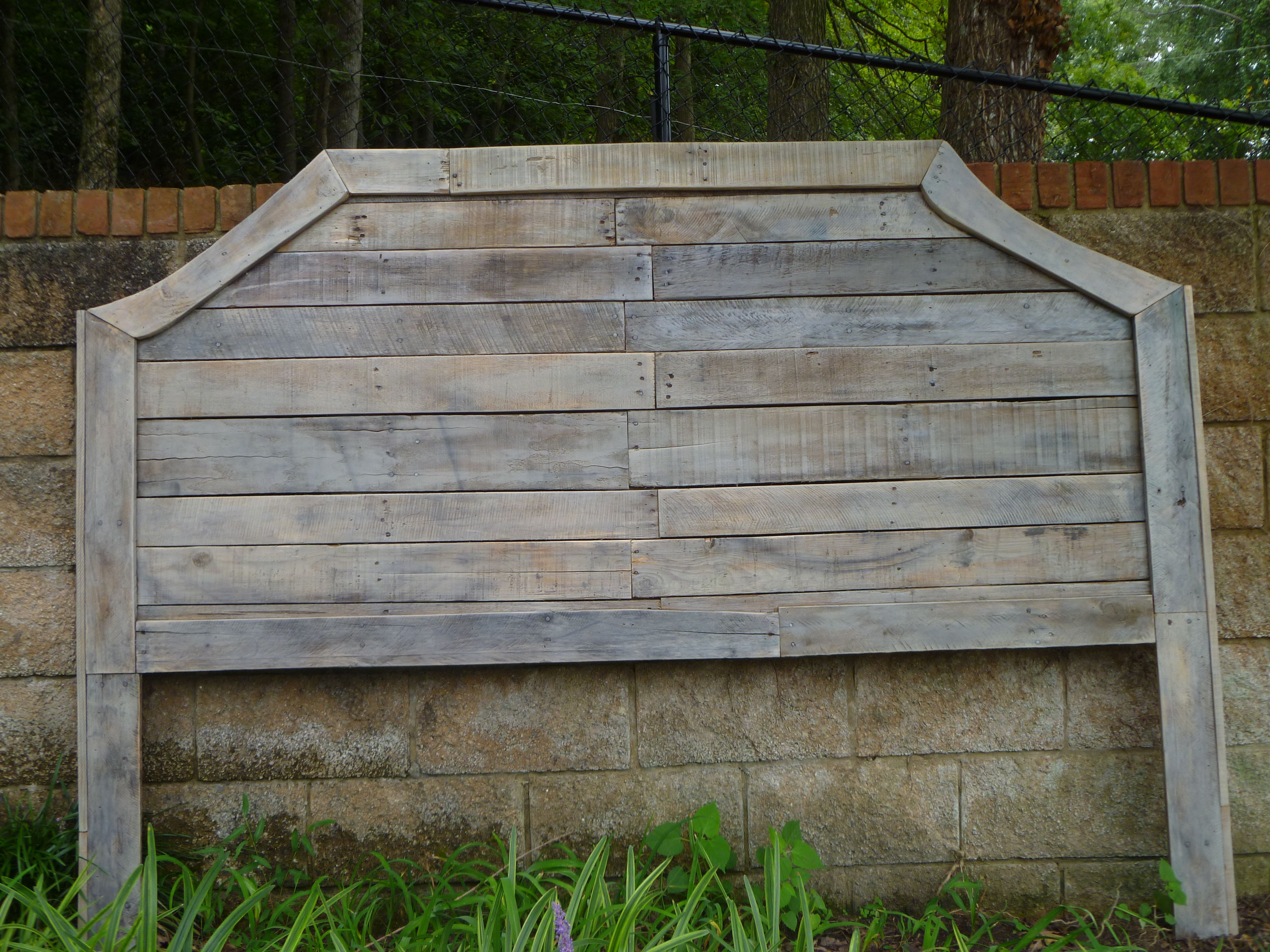 Pallet Headboards With Gray Wash Stain Projects Pinterest Grey Wash Pallets And Gray