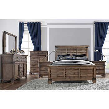 Evelyn 6 Piece Cal King Bedroom Set