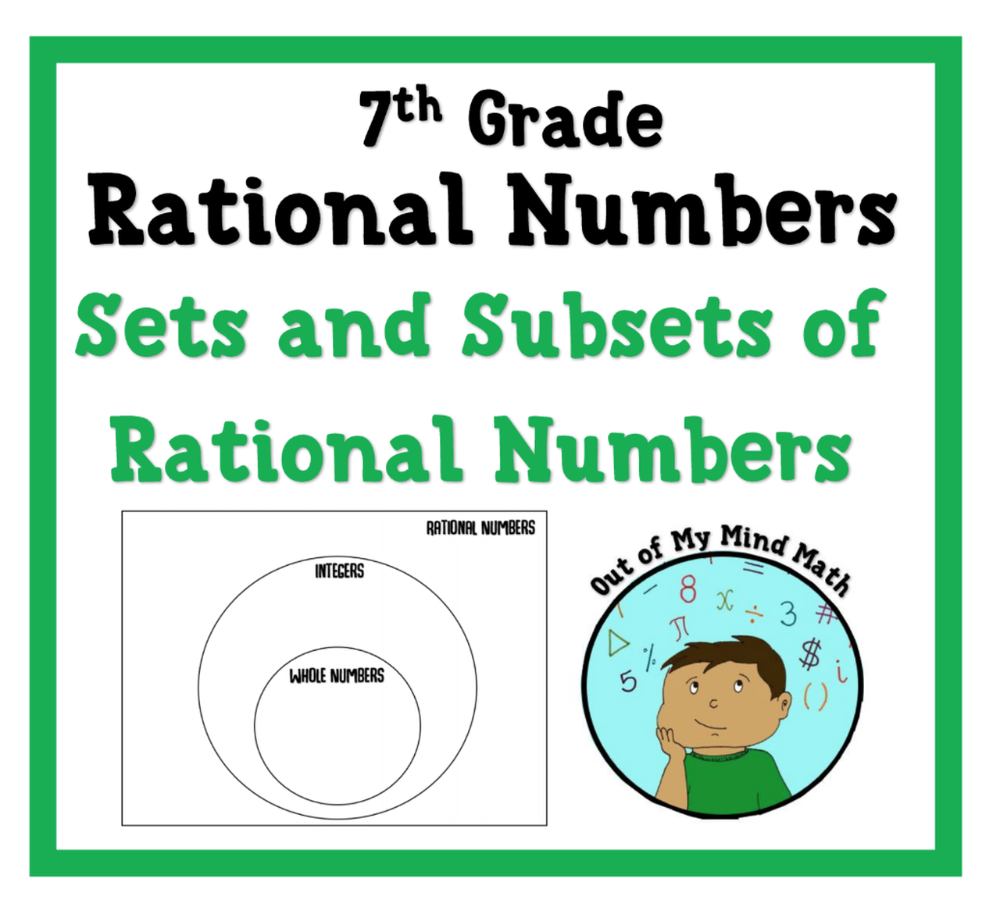 Rational Number Sets Subsets Practice And Quizzes Sets And Subsets Rational Numbers Pre Algebra Activities