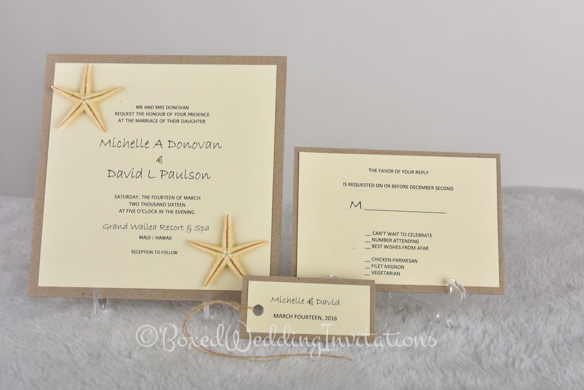 Let us design your destination wedding invitations for you. See more ...