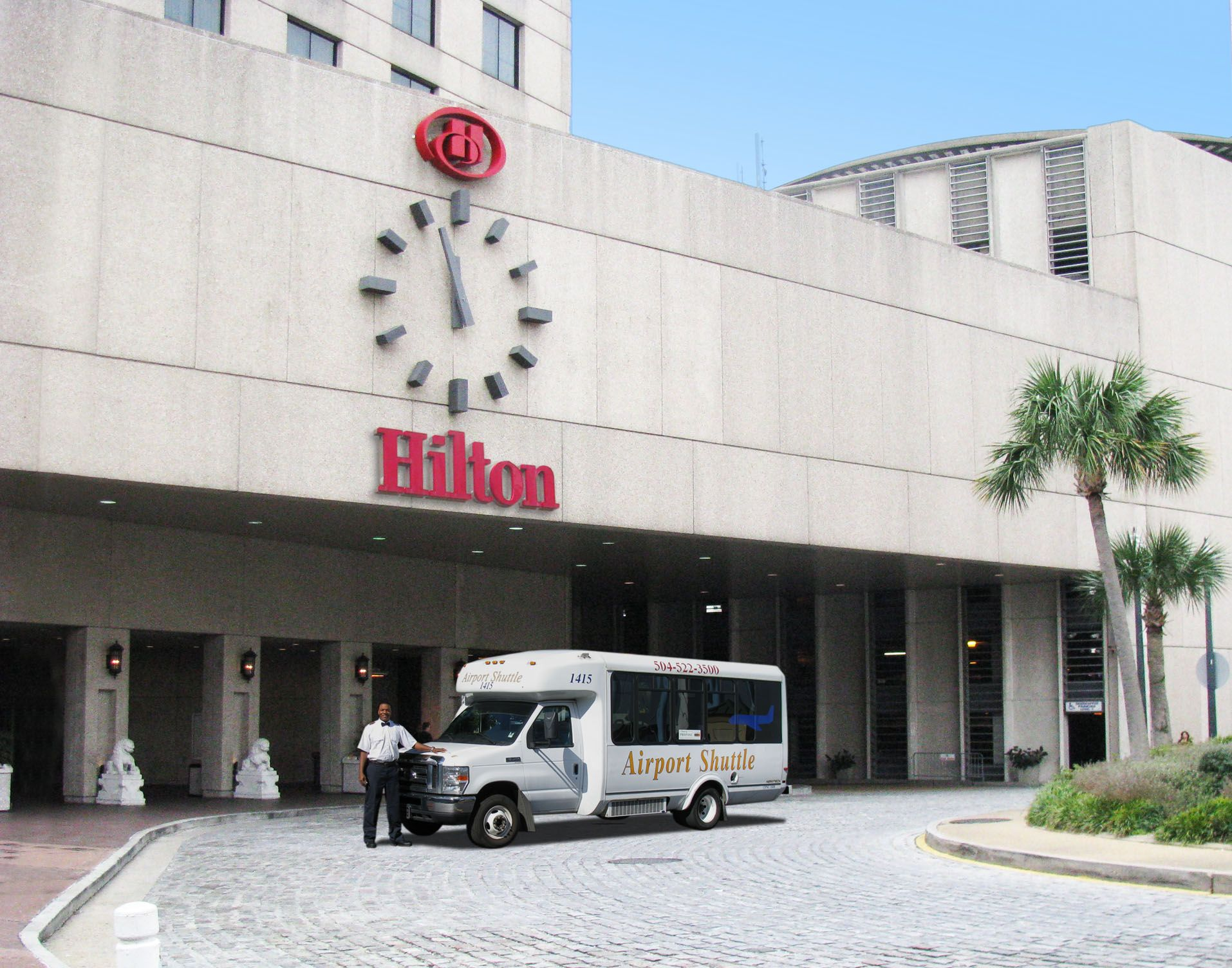 Staying At The Hilton In New Orleans We Ll Gladly Pick You Up