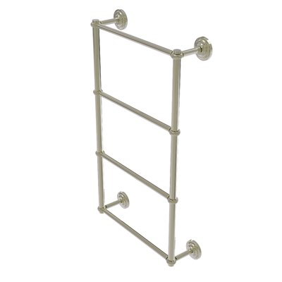 """Allied Brass Que New 34"""" Wall Mounted Towel Bar Finish: Polished Nickel"""