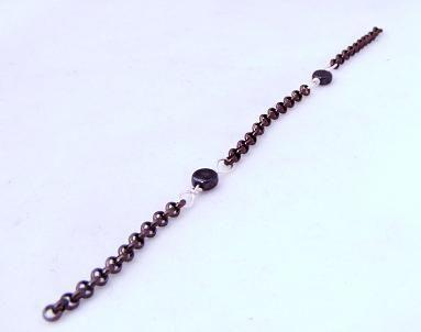 Beaded Chain - free tutorial - jewelrylessons.com