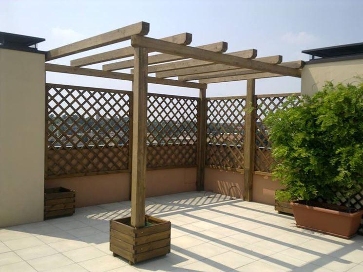 Coperture in legno per esterni pergole e tettoie da giardino ...