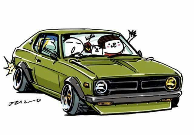 日本の車 おしゃれまとめの人気アイデア Pinterest Steve 車の絵 変な車 車 イラスト