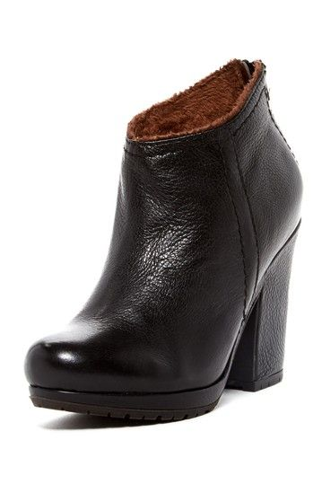 Lined Leather Bootie by Liebeskind on @HauteLook