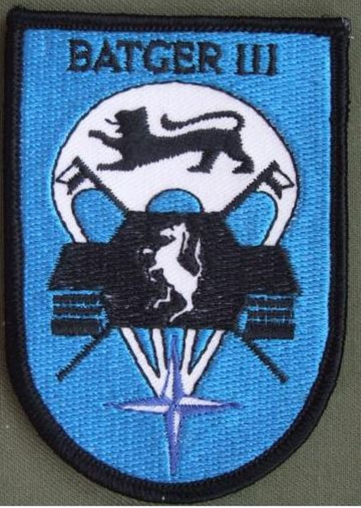 Germany 3rd Airborne Battle Group Patch The Patch Is In Near Mint Condition Army Patches Military Insignia Military Patch