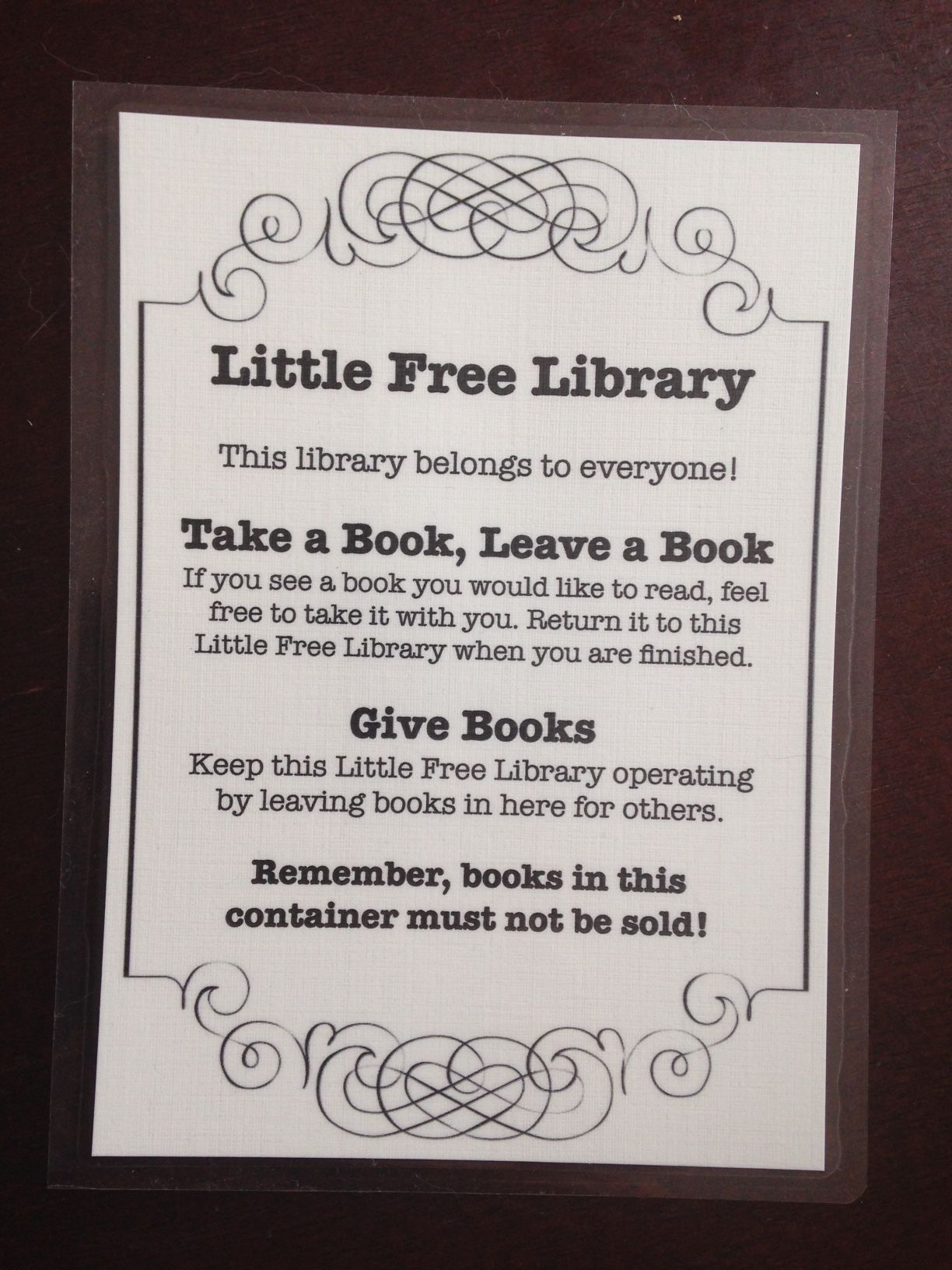 How to Keep Your Little Free Library Stocked | Library ...