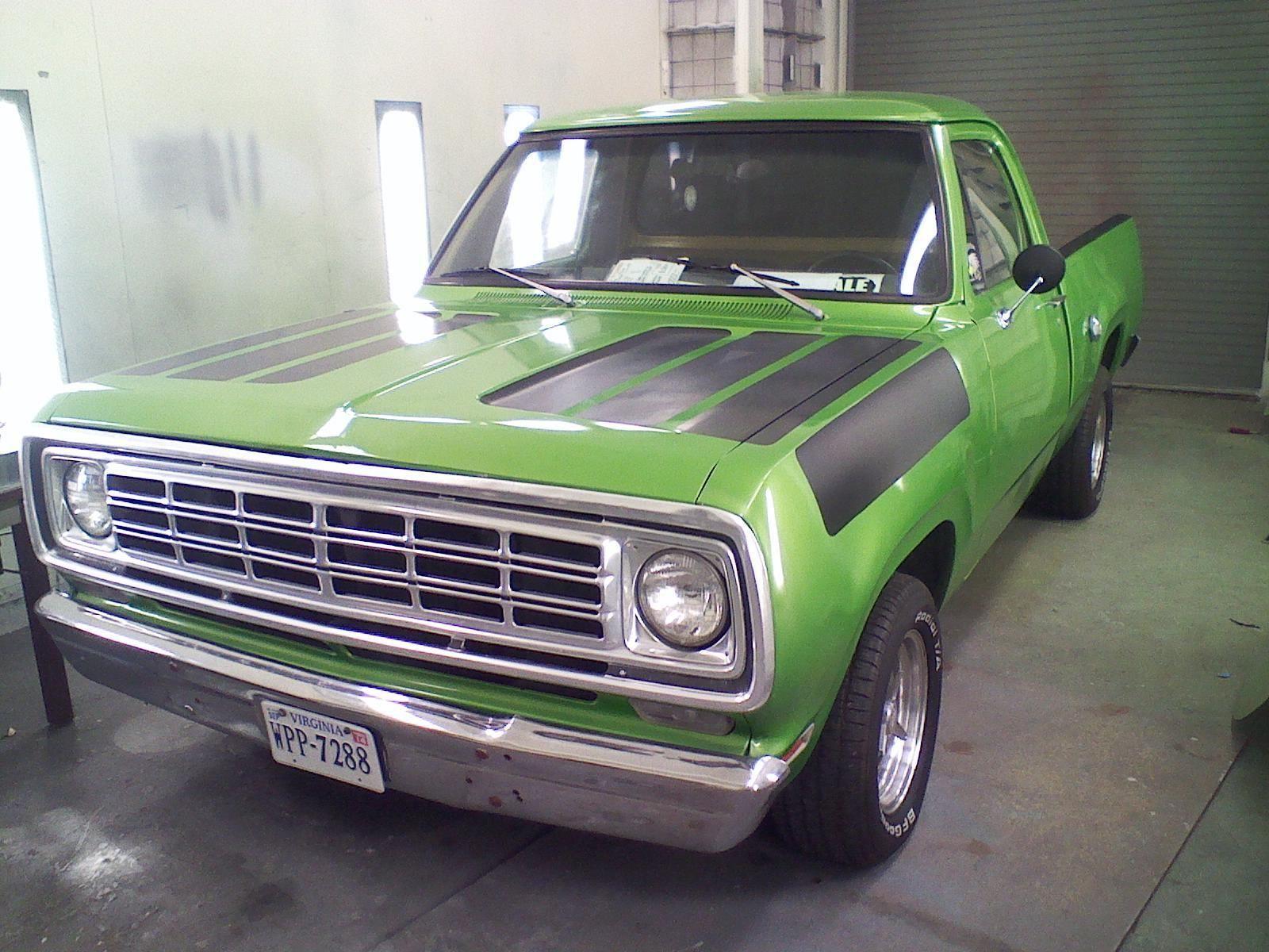 1976 Dodge D100 Short Bed Truck 1976 Dodge Other Pickups Old Dodge Trucks Dodge Pickup Trucks Dodge Pickup