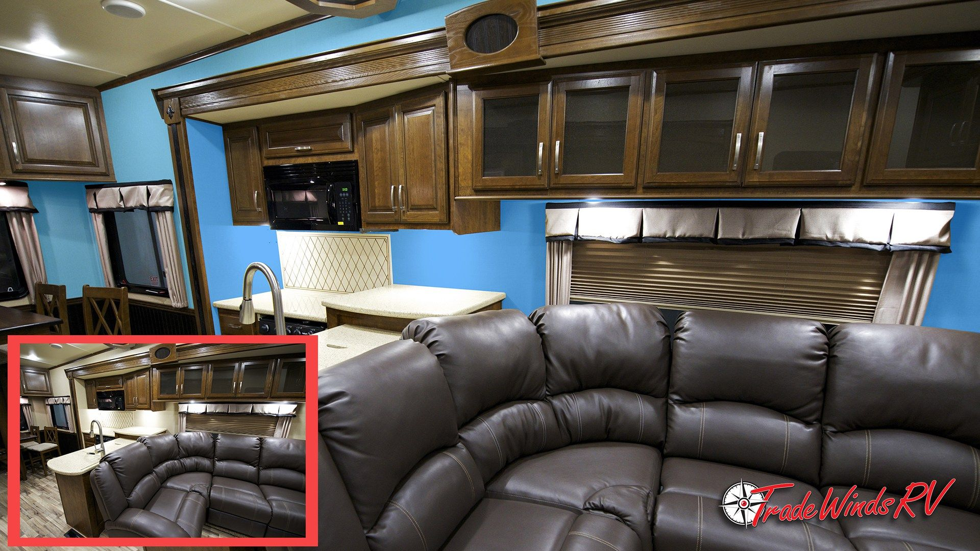 Tips For Painting Over RV Walls Or Wallpaper Rv interior