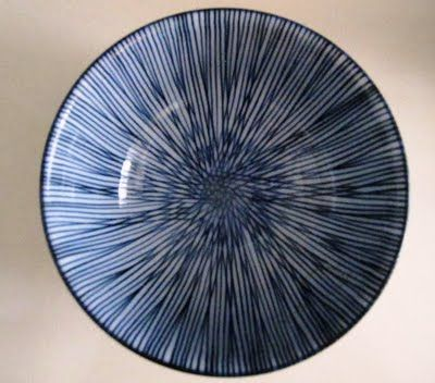 blue and white japanese bowl