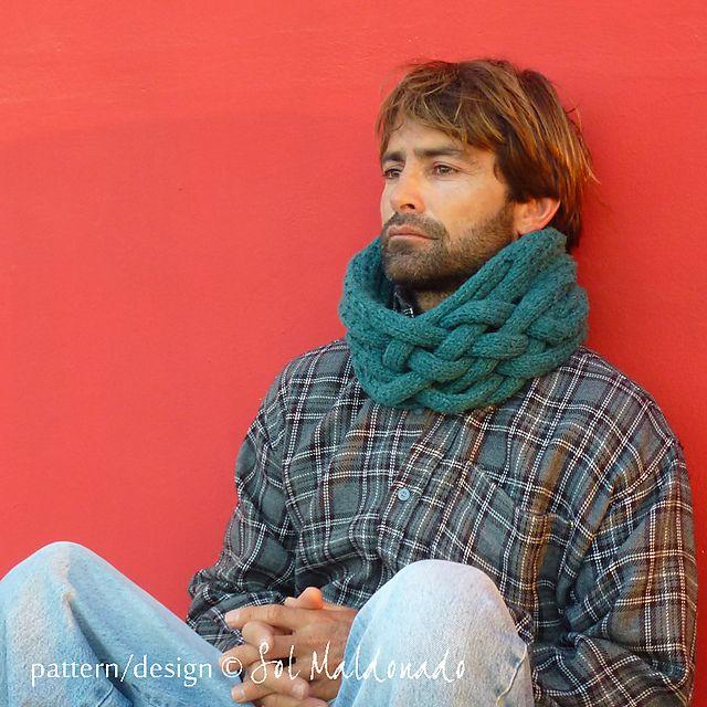 Ravelry: Cowl Weave Circle scarf pattern by Sol Maldonado
