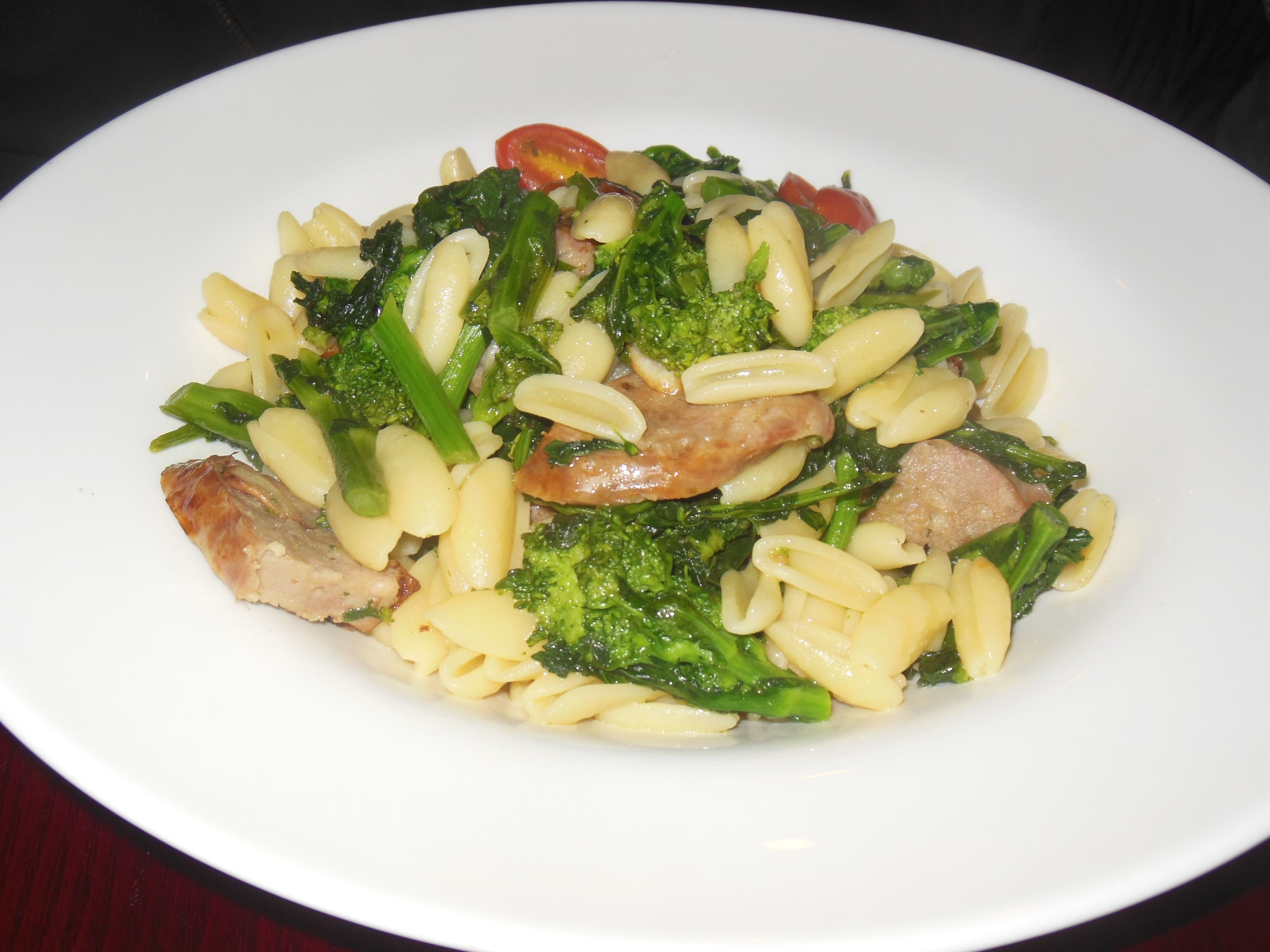 Sapori, Upper Montclair, NJ: Cavatelli with sweet Italian sausage and broccoli rabe. http://njmonthly.com/blogs/tablehopwithRosie/2014/1/8/restaurant-news.html#read_more