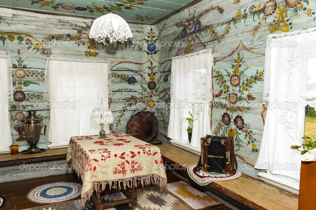 Interior farm house | Alexander Zhivitsky #12600370 - these walls are truly beautiful