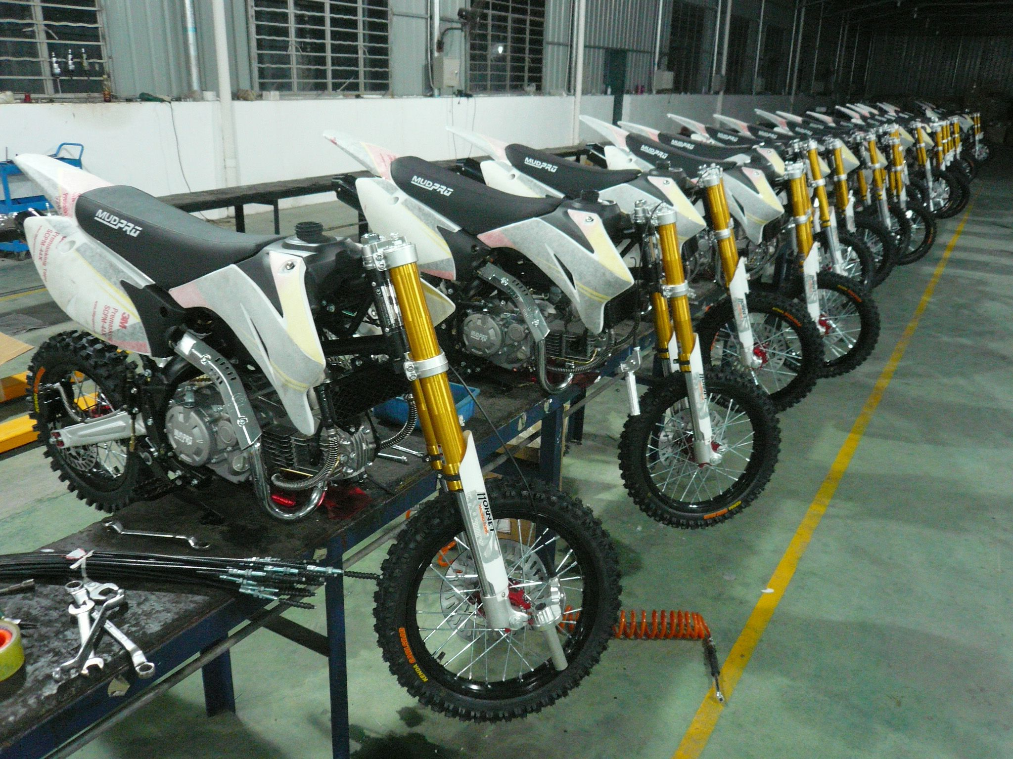 Pit bike competition