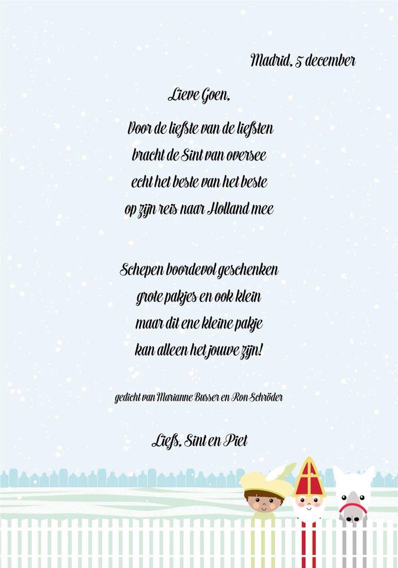 Download Een Word Bestand Met Deze Sinterklaas Achtergrond Voor Je