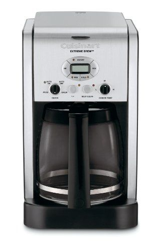 Cuisinart Dcc 2650 Brew Central 12 Cup Programmable Coffeemaker Cuisinart Http Www Amazon Com Dp B004 Cuisinart Coffee Maker Best Coffee Maker Coffee Brewing