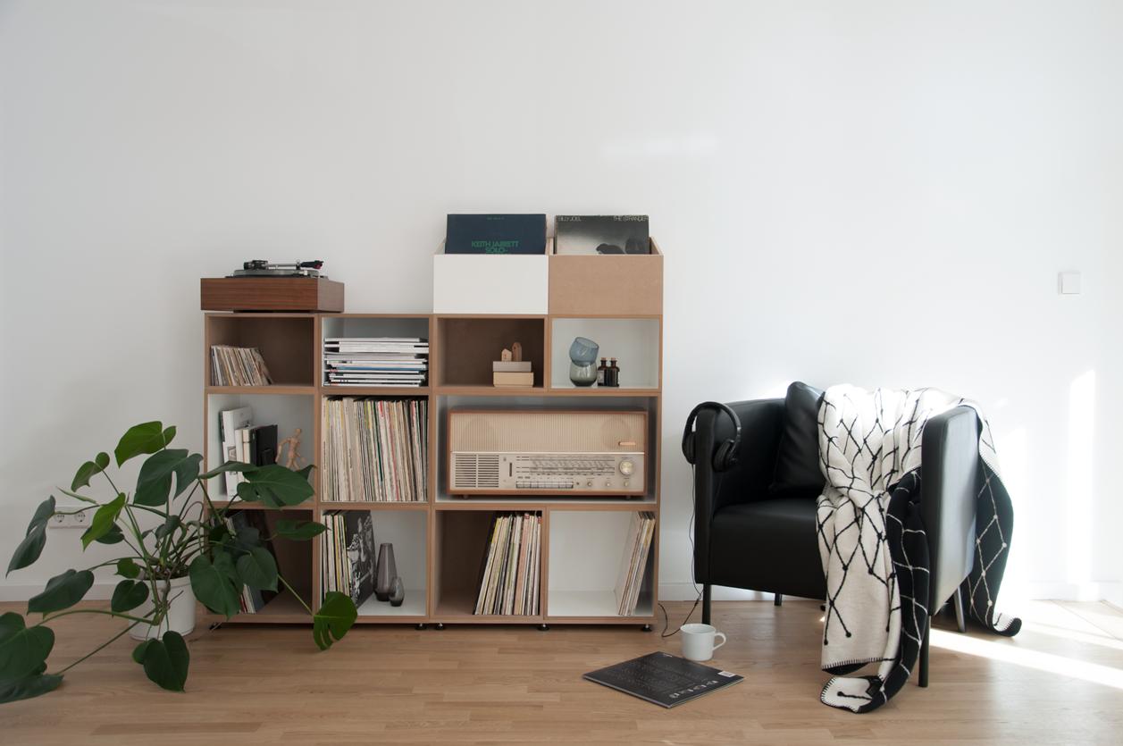 schallplattenregal inspiration lounge vinyl schallplatten regalsystem lp regal - Schallplattenregal