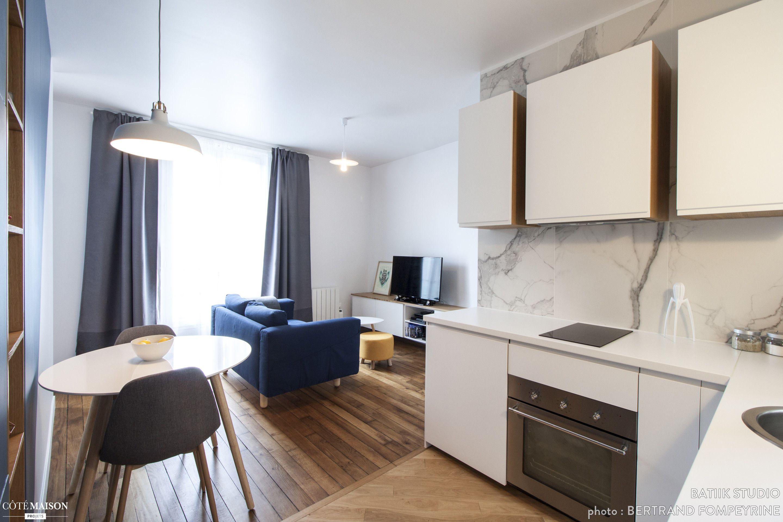 Deux pi ces cosy paris batiik studio architecte d - Architecte interieur paris petite surface ...