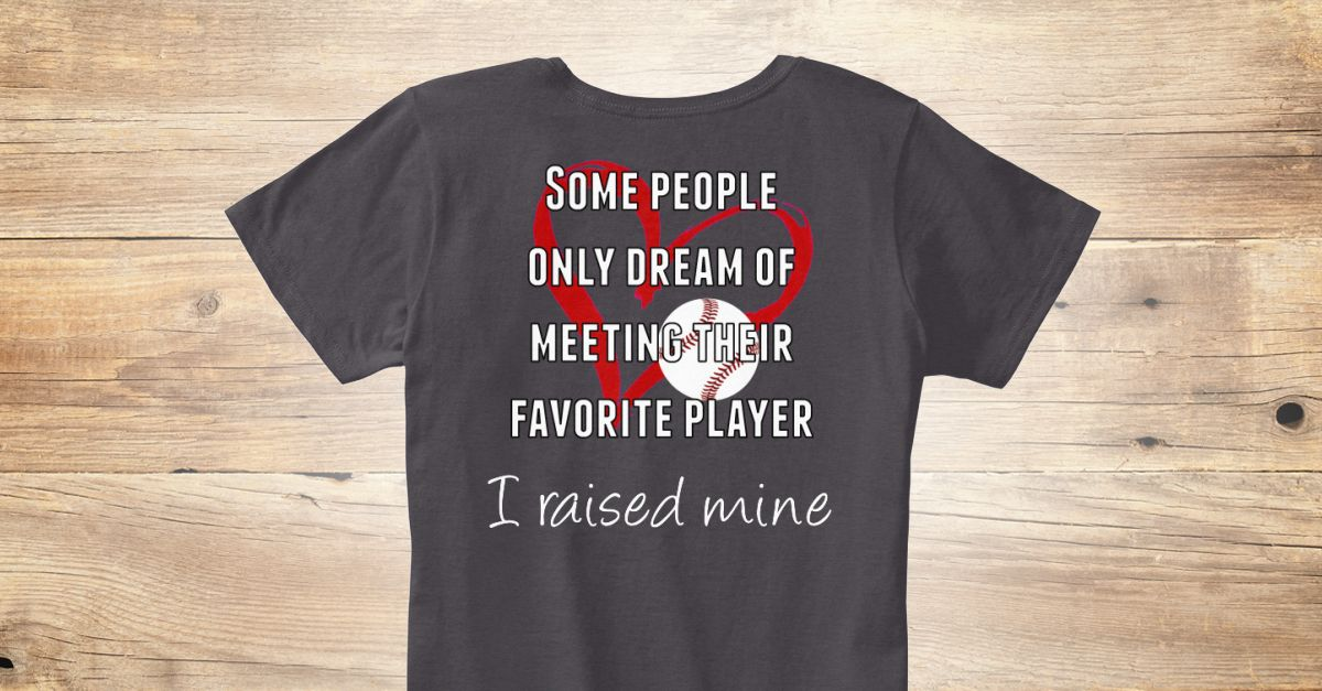 Discover Baseball Mom Favorite Player Best Seller Women's
