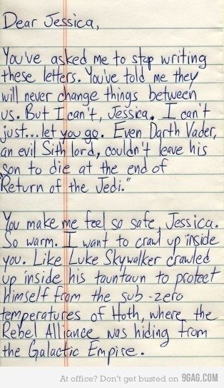 Oh My God  This Is The Kind Of Love Letter My Husband Would