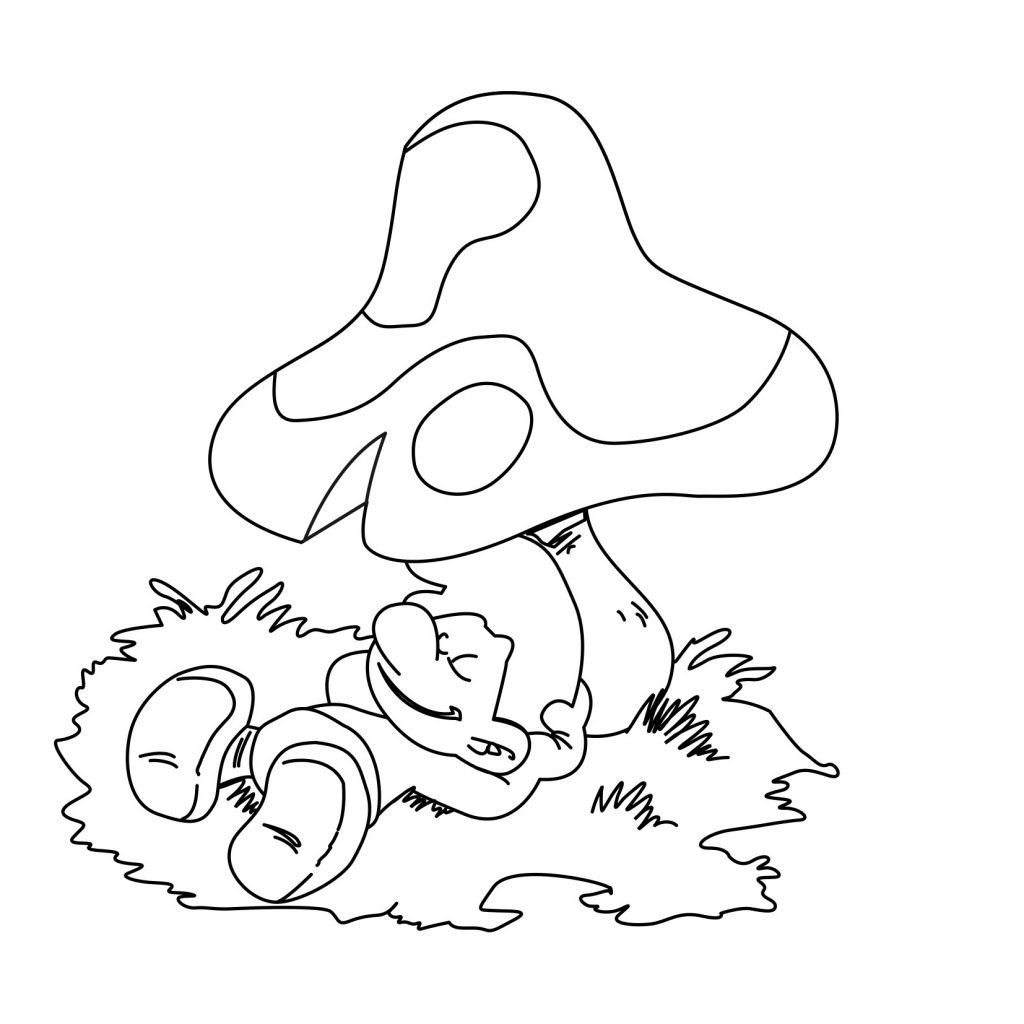 Free Printable Smurf Coloring Pages For Kids Activiteiten Thema Kleurplaten