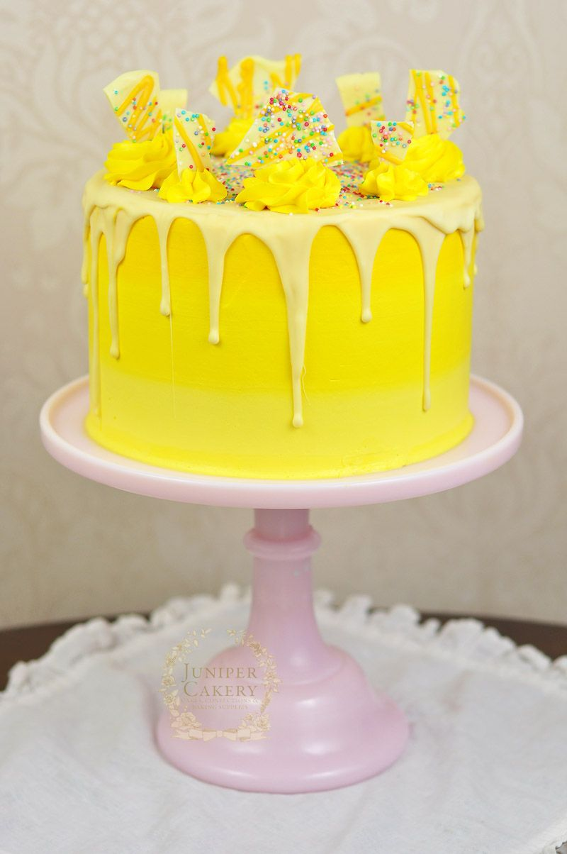 Bakery cakes in Kingston-upon-Hull and surrounding area -   17 drip cake Yellow ideas