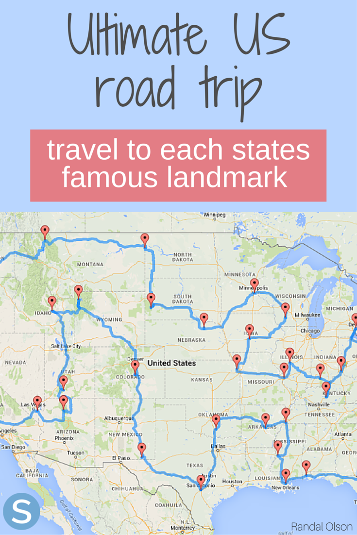 according to science, this is the ultimate road trip across the