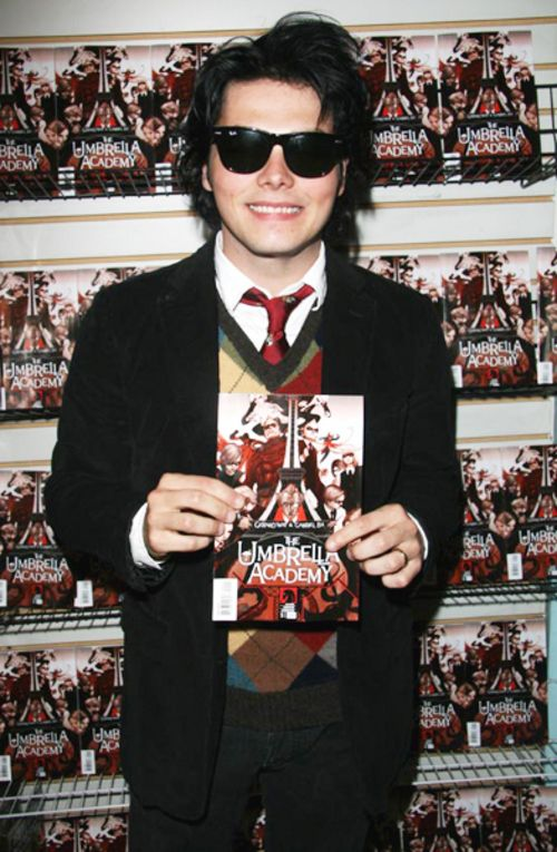 Gerard Way -The Umbrella Academy one of the books he's written ...