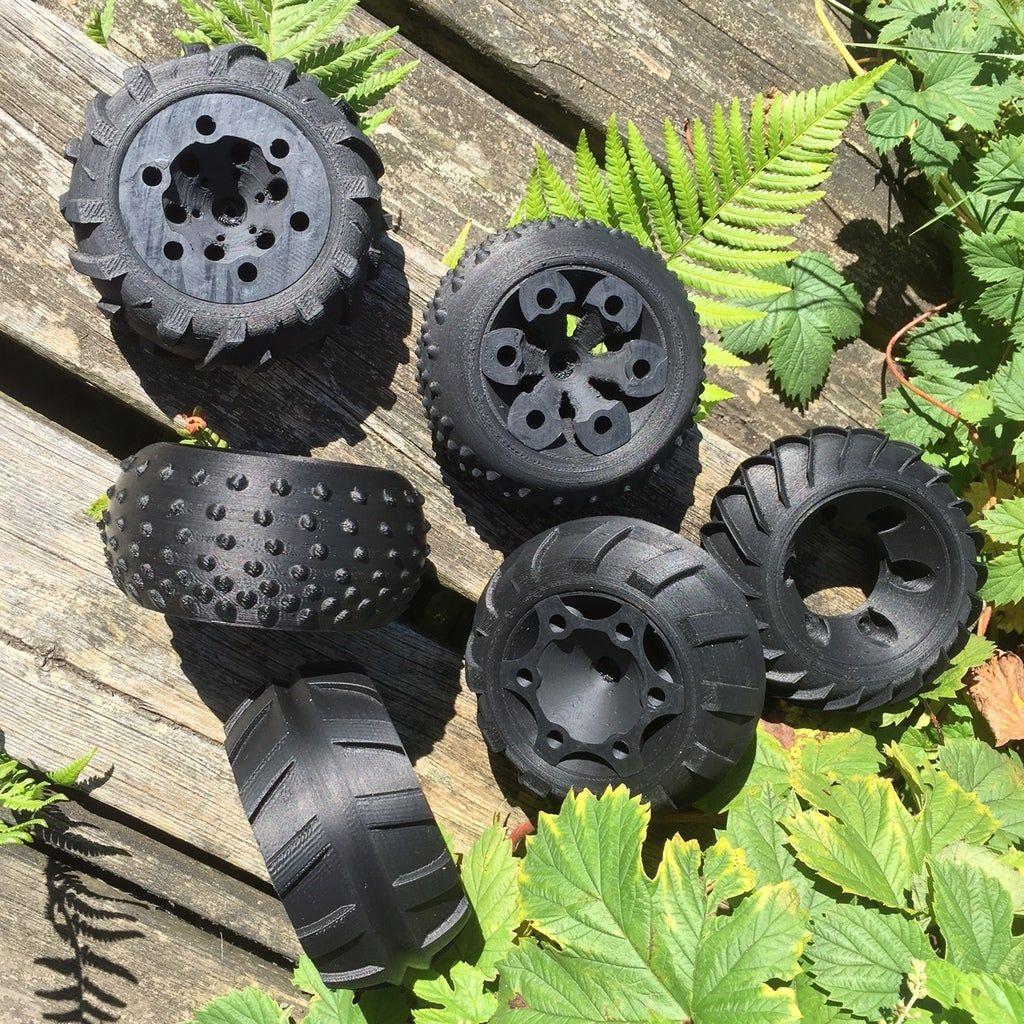 3d printed rc car parts