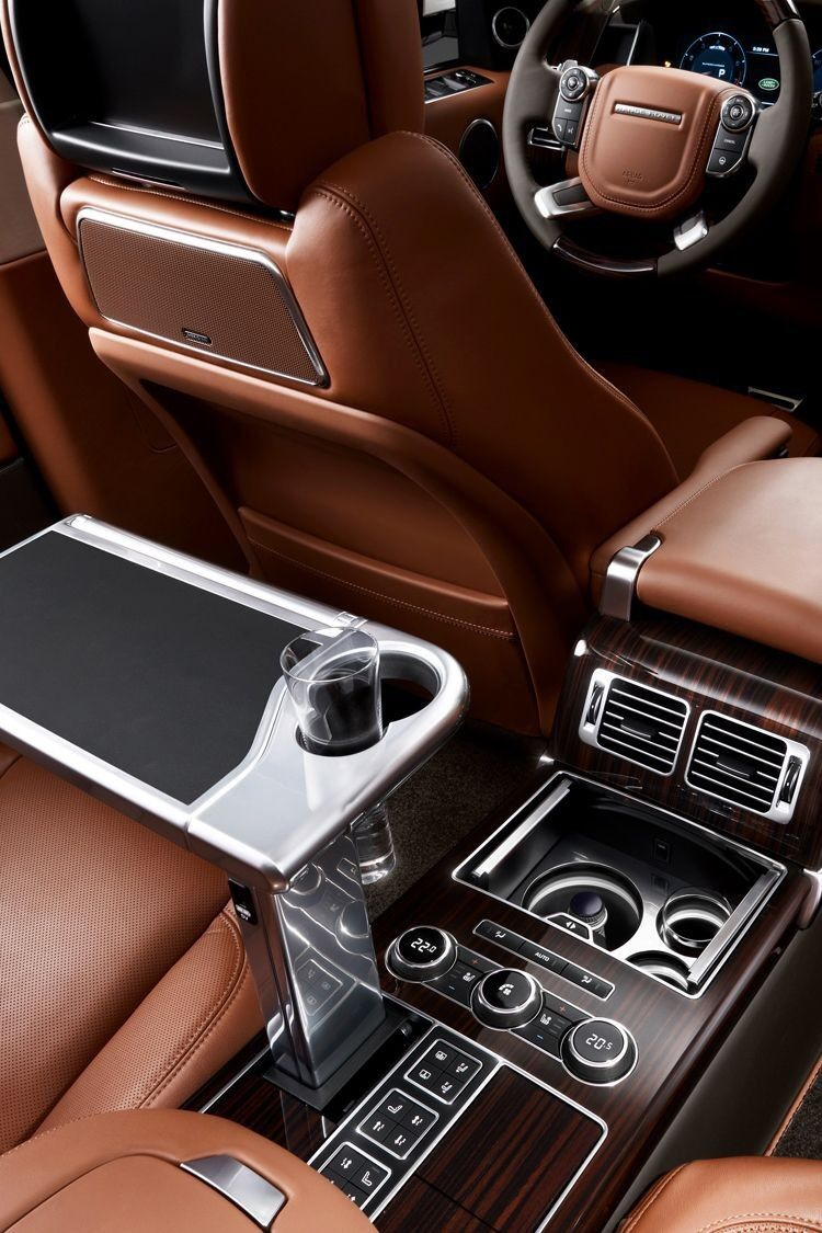 Range Rover Gentleman's Essentials Range rover interior