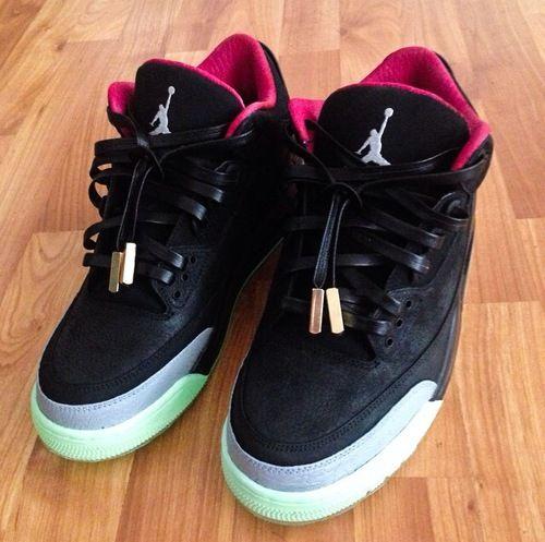 Jordan Retro 3 Custom Yeezy  df6fba5a0