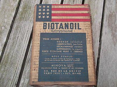 biotanoil additif pour huile moteur ancien auto moto d co garage atelier bidon 2 eur 45 00. Black Bedroom Furniture Sets. Home Design Ideas