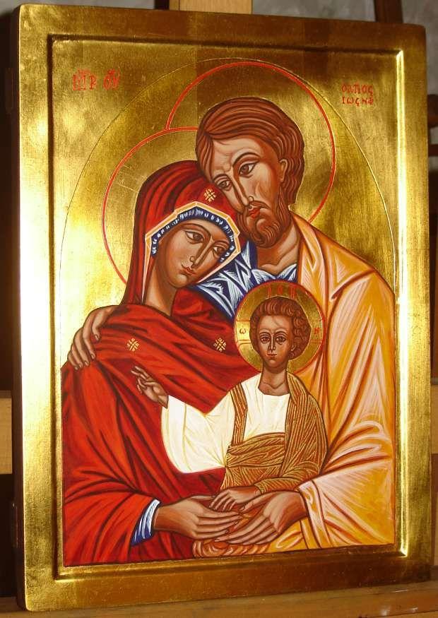 święta Rodzina Ikona Ruchu Equipes Notre Dame Ikona End Ikona Sw