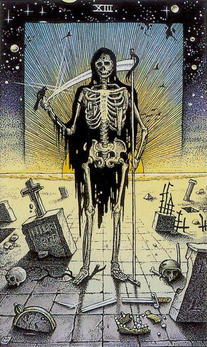 COSMIC TAROT- XIII - Death