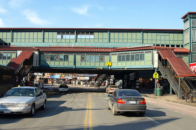 Elevated Subway New York Fordham Road Elevated Subway Station Bronx New York City A Photo The Bronx New York Bronx Nyc New York Architecture