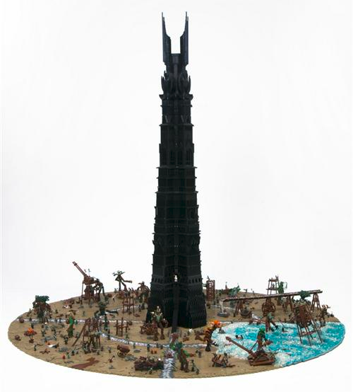 The Lego Lord Rings Mordor Des TowerLegoSeigneur Of OuTXZPki