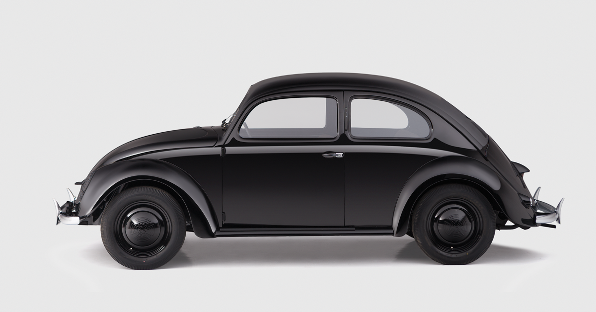 Oldest Serially Produced Volkswagen Beetle Kdf Beetle From 1941 Was Restored And We Have A Book About The Whole Rest Vw Beetles Volkswagen Beetle Volkswagen