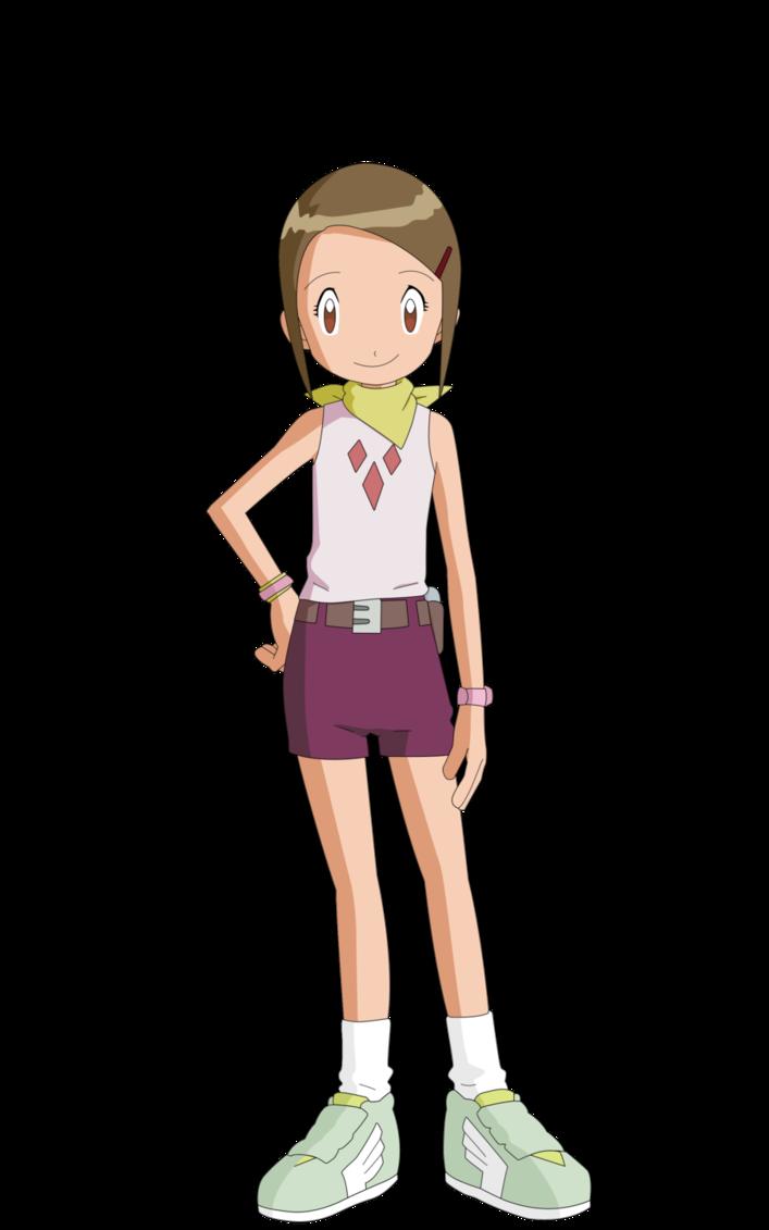 Digimon Adventure Hikari Yagami Kari Kamiya Uniform Cloth Cosplay Costume NEW